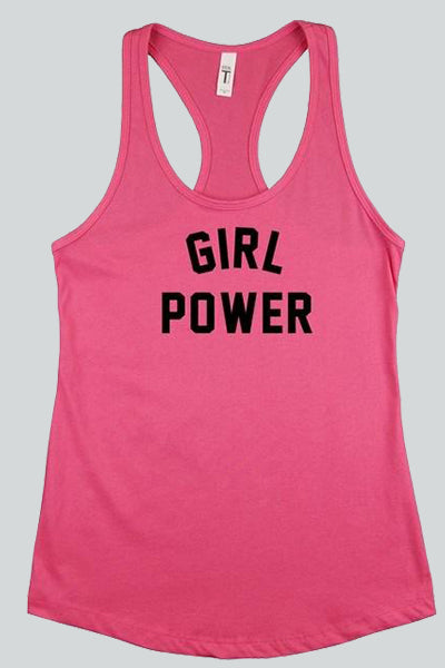 Girl Power Tank Top - Hippie Vibe Tribe