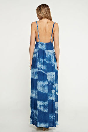 Baby Blue Sky Maxi Dress - Hippie Vibe Tribe
