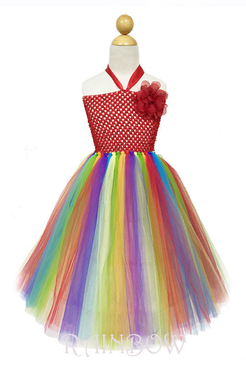 Little Girl Rainbow Dress - Hippie Vibe Tribe