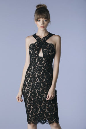 Black Lace Dress - Hippie Vibe Tribe