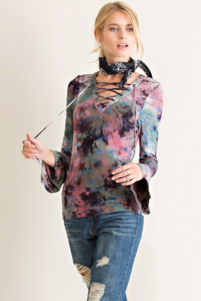"""HOT"" Tie-Dye Long Sleeves - Hippie Vibe Tribe"