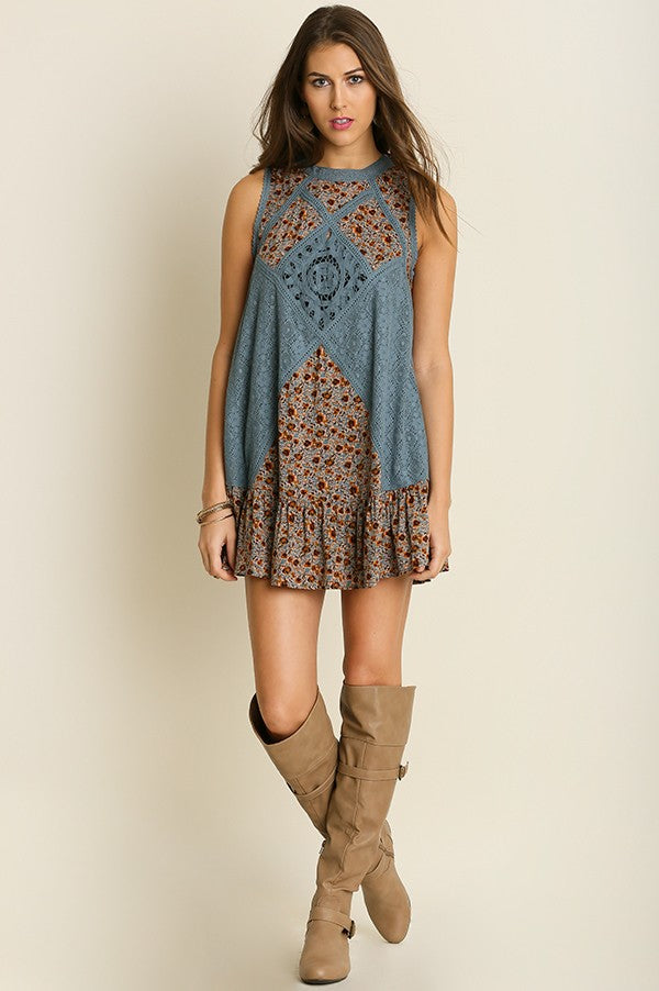 Sleeveless Dress - Hippie Vibe Tribe