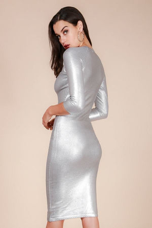 Silver Sweater Dress!! - Hippie Vibe Tribe