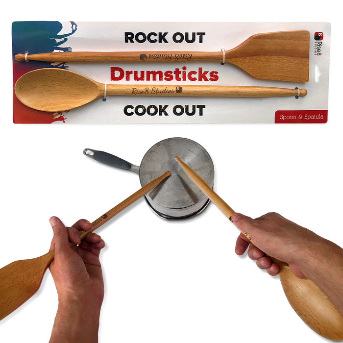 Drumstick Kitchen Utensils (Set of 2)