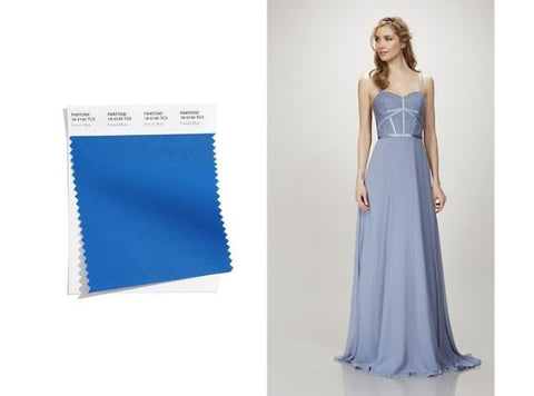 wedding gown french blue