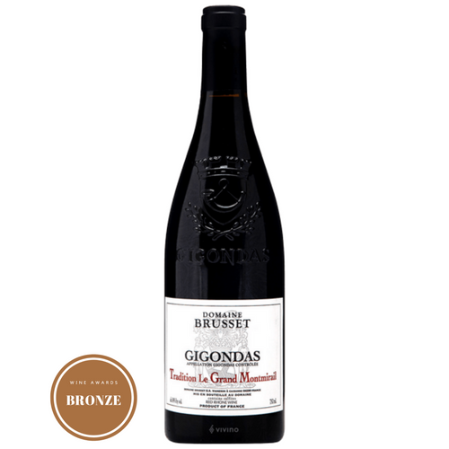 Domaine Brusset Gigondas Tradition le Grand Montmirail Rhone Valley France