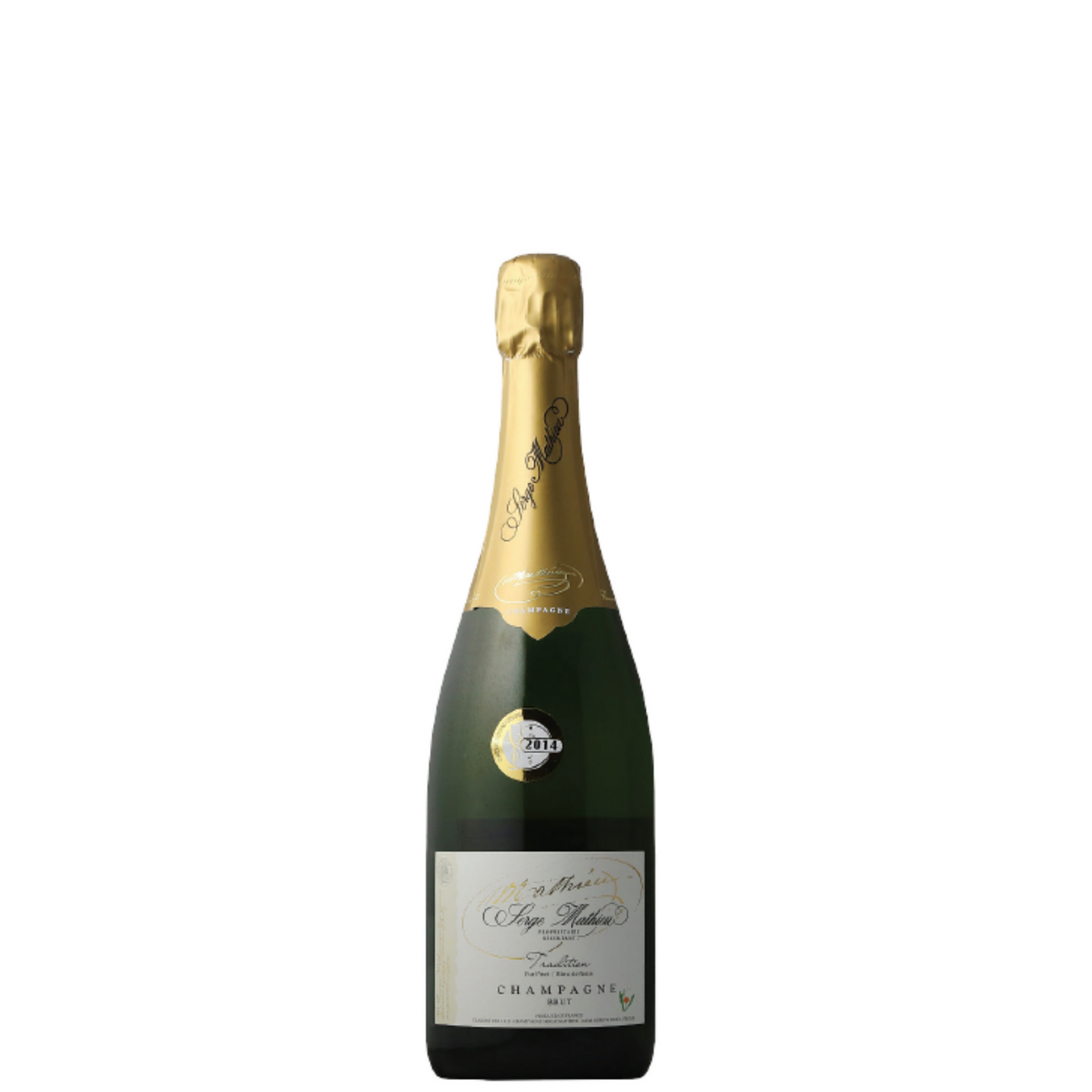 Serge Mathieu Brut Tradition Champagne France 350ml
