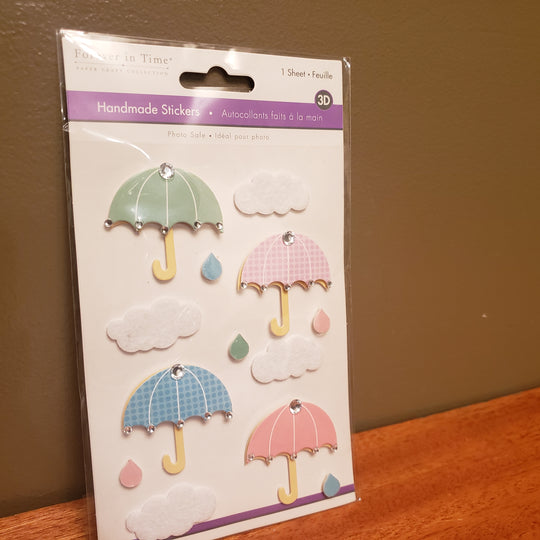Brand New 3D Stickers UMBRELLAS
