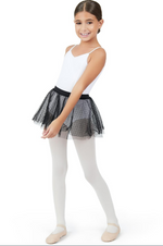 Capezio Double Layer Pull On Skirt, Childs
