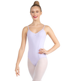 Capezio Studio Collection V Neck Camisole Leotard, Childs