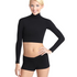 Capezio Turtleneck Long Sleeve Top, Adults