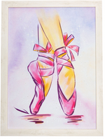 Mad Ally Light Up Frame, Pointe Shoes