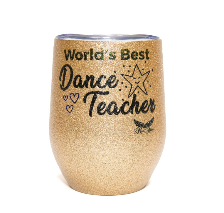 Mad Ally Glitter Mug, Dance Teacher