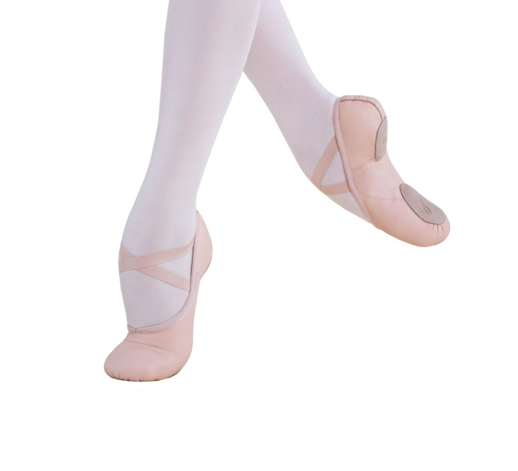 Energetiks Révélation Ballet Shoe Mesh Split Sole, Childs