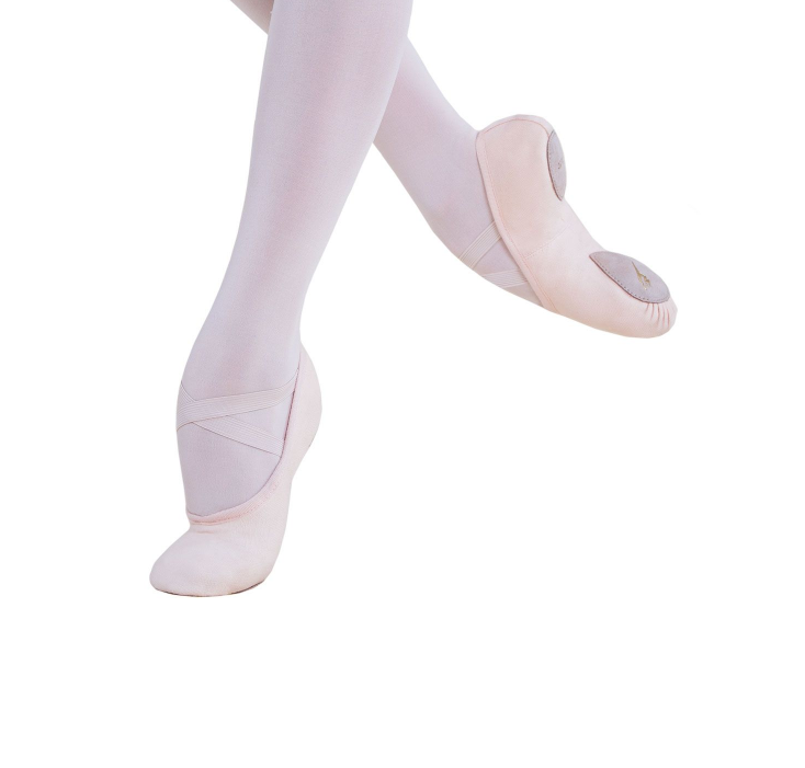 Energetiks Ballet Shoe Canvas Split Sole, Childs