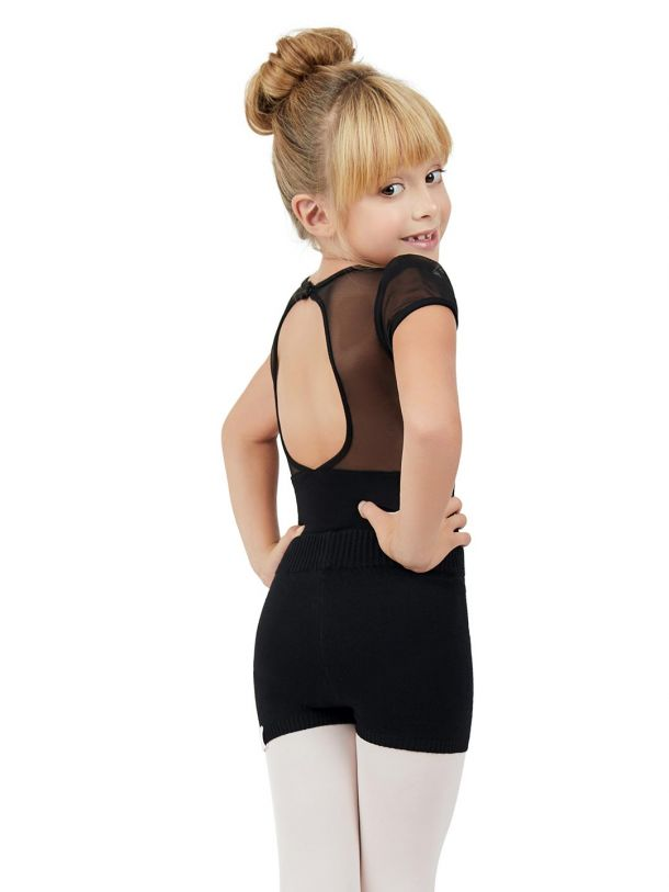 Capezio Knit Boyshort, Girls