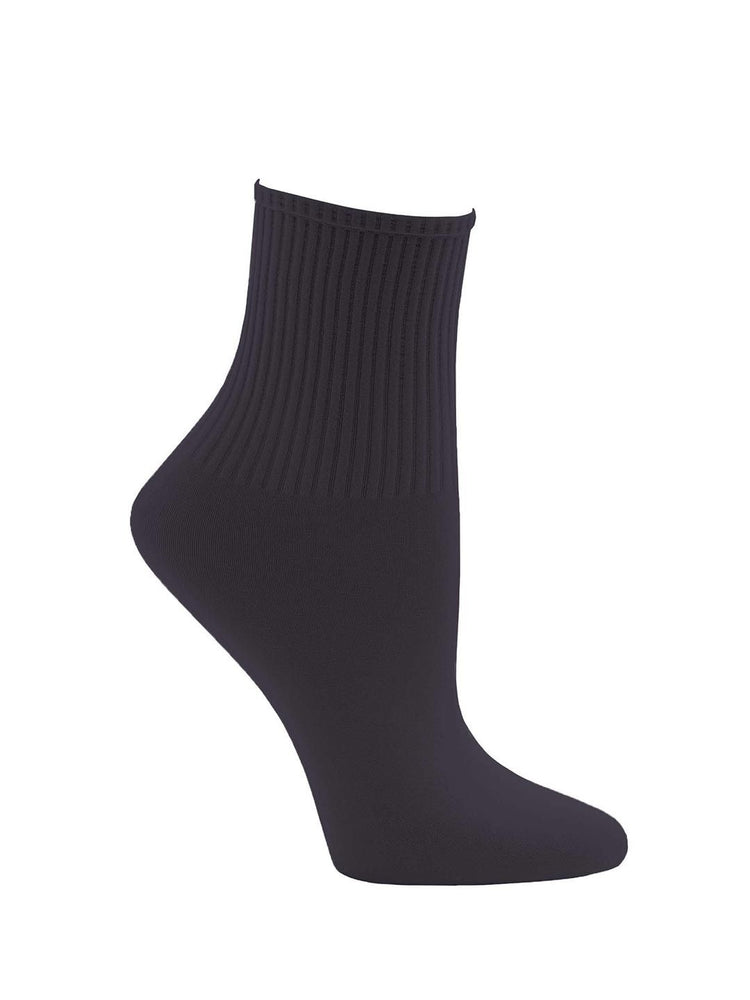 Capezio Ribbed Sock, Childs