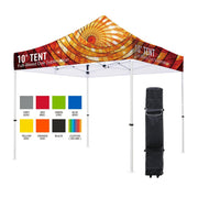 Premium Aluminum  45mm Hexagonal (Silver)3M x 3M Tent Kit (Full-Bleed Dye Sublimation)