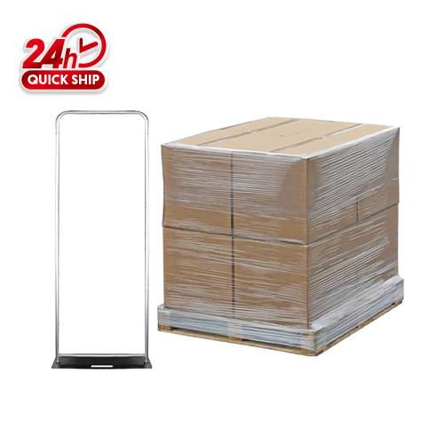 50pcs 91cm x 228cm Tube Display Frame Only / 120cm x 120cm x120cm / 375kgs/1 Pallet