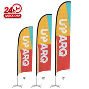 Premium Concave Flags