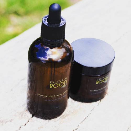 Ayurvedic Hair renewal & growth duo.