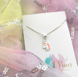 Sparkly Unicorn Necklace