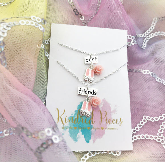 Best Friends Ballet Necklace Set