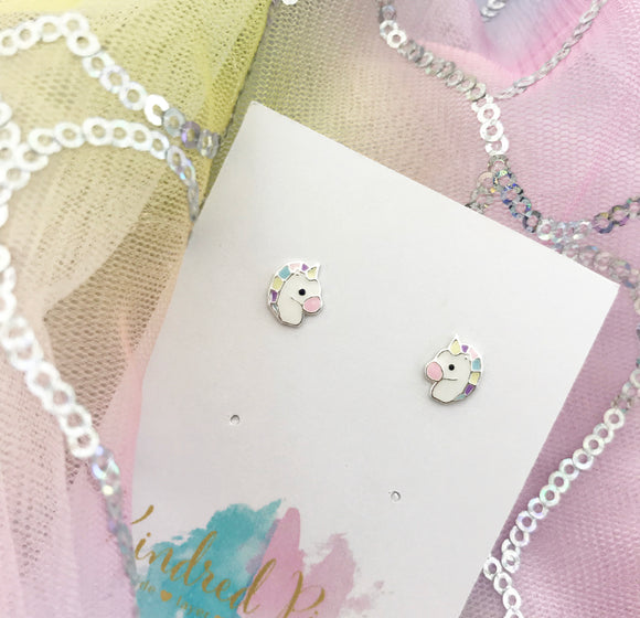 Pastel Unicorn Earrings