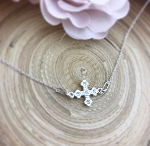 Swarovski Cross Connector Necklace