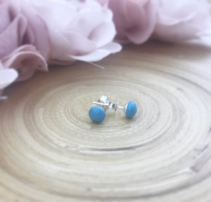 Swarovski Pearl Earrings - Turquoise