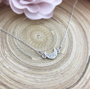Swarovski Moon Connector Necklace