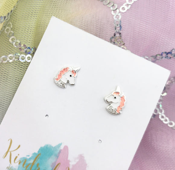 Sparkly Unicorn Earrings