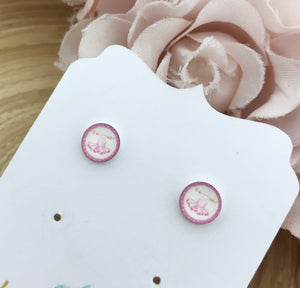 Tutu Picture Earrings