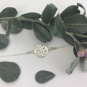 Tree of life connector necklace