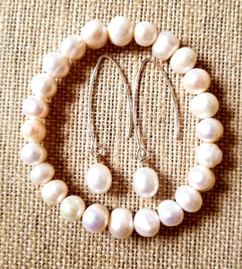 Lustrous Freshwater Pearl Set