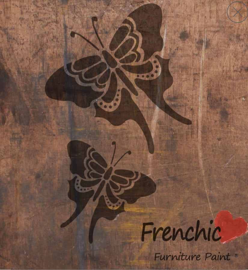 Frenchic Butterfly stencil