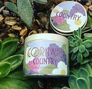 KernowSpa Cornwall Country Candle tin