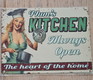 Retro Metal Sign
