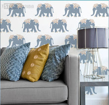 Load image into Gallery viewer, Stencil Indian Elephant