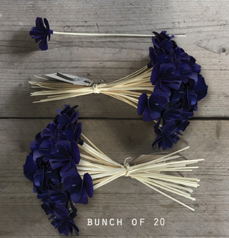 Handcrafted Flowers Indigo