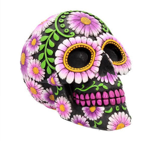 sugar skull money box