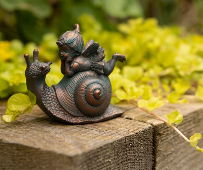 Fairy with snail