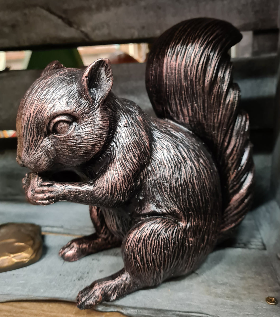 Squirrel bronze effect