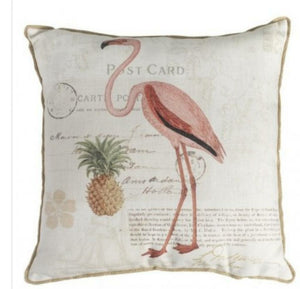 SALE Flamingo Cushion
