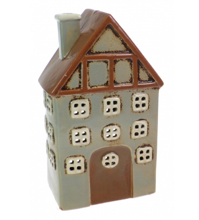 Ceramic House Tealight Holder