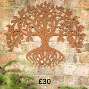 Wall plaque Twisting Tree Wall Plaque