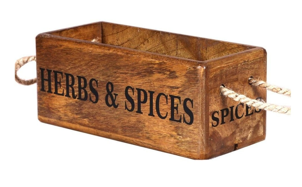Herbs and Spices box