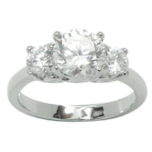 Load image into Gallery viewer, Classic Round Prong Set Cubic Zirconia Engagement Ring
