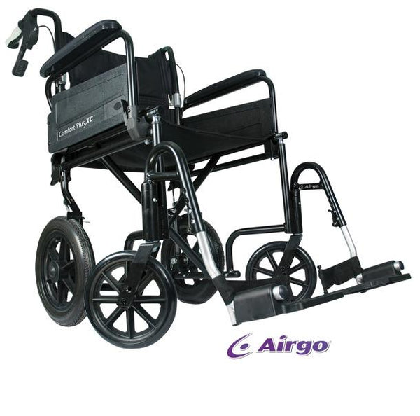Airgo Comfort-Plus XC Premium Transport Chair - Scooters and more