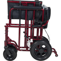 "22"" Bariatric Aluminum Transport Chair - Scooters and more"